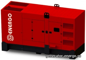Стационарный дизельный генератор Energo EDF 500/400 SC