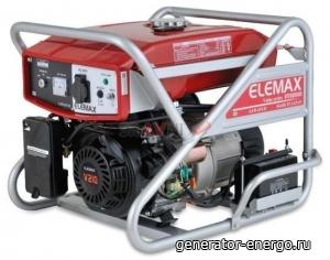 Бензиновый генератор Elemax SV 6500S-R