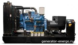 Стационарный дизельный генератор Energo ED 1650/400MTU